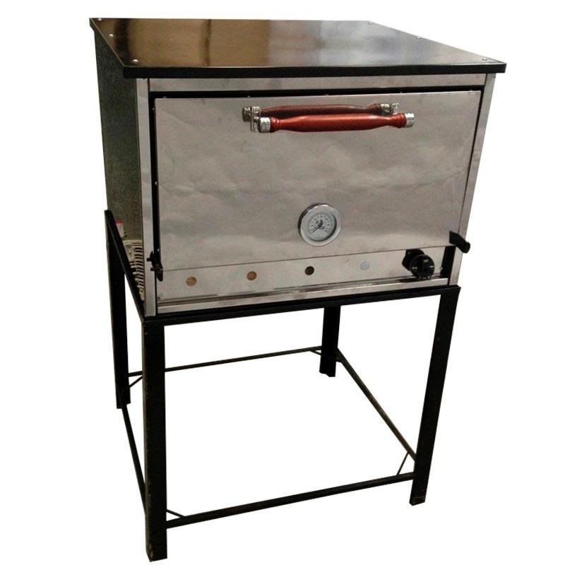 Horno Pizzero 6 Moldes Industrial Acero Inoxidable A Gas Eg