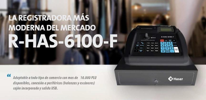 CONTROLADOR FISCAL HASAR R-HAS-6100-F NUEVA TECNOLOGIA #HAS6100